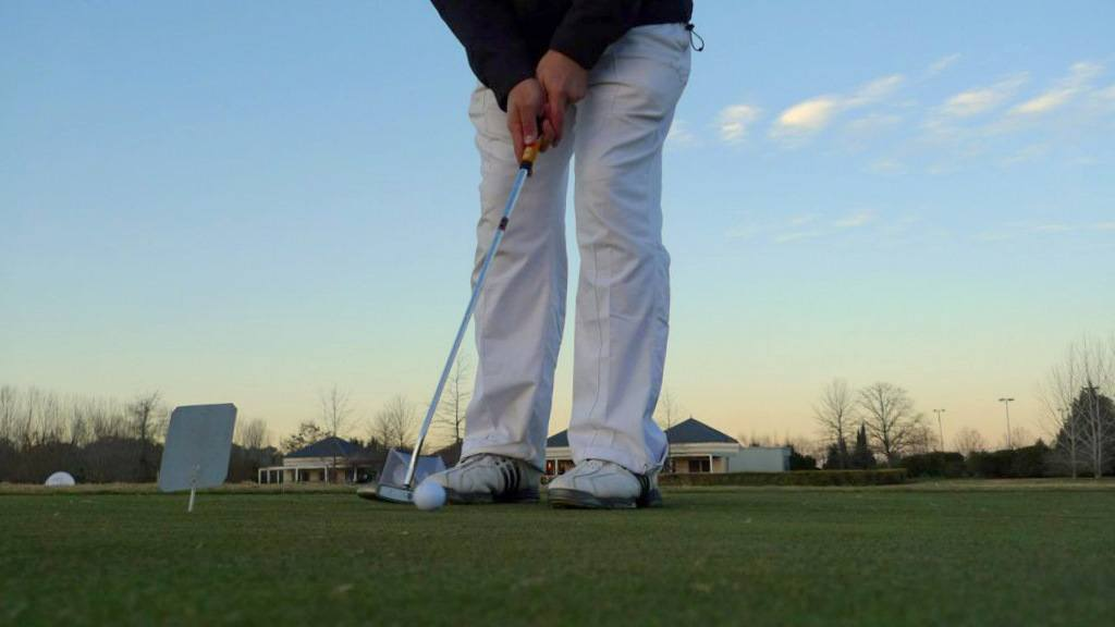 align the face head putter