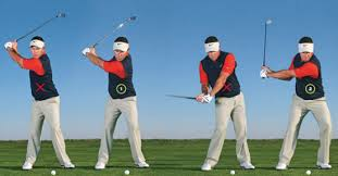 The techniques needed to hit the ball