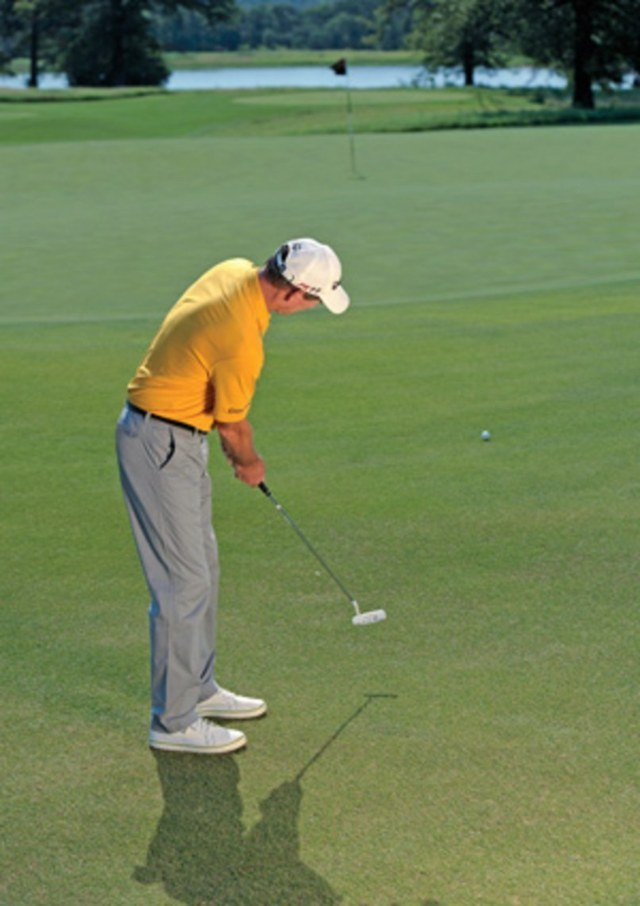 Under-reading putts