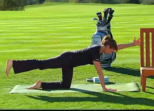 yoga for golfer